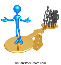 Quality Scale - 3D Concept And Presentation Figure