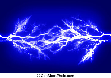 Pure Energy and Electricity Symbolizing Power - Pure energy...