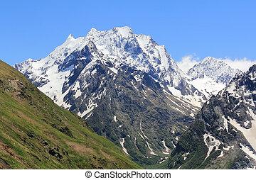 Caucasus mountains in Russia - Image of scenery Caucasus...