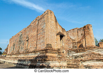 Remains a treasured cultural - Ruins of a temple in...
