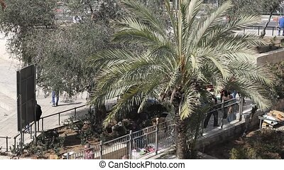 View of modern Jerusalem - Jerusalem , Israel - February 22...