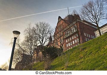 Terraced house in Hamburg