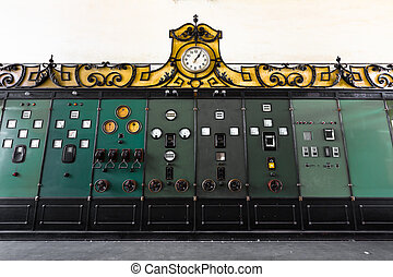electric controller panel