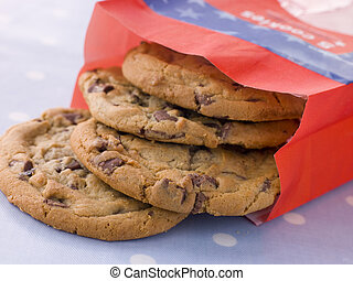 Bag Of Milk Chocolate Chip Cookies