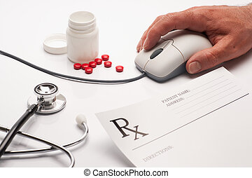 Prescription medicine and computer mouse