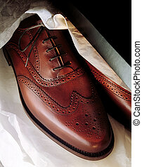 Mens Shoes in shoebox
