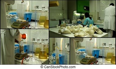 Laboratory analyzing lab equipment microbiology multiscreen