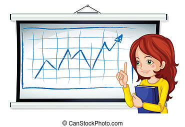 A business icon reporting - Illustration of a business icon...