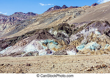 Artists Point Along Artists Drive; Death Valley National...