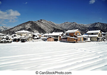 Sunny day of Winter - a sunny day of winter in Japan