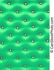 Green leather pattern with knobs,Texture for Background