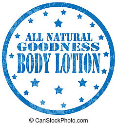 Body Lotion-stamp
