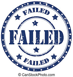 Failed-stamp