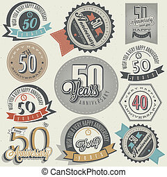 Vintage 50 anniversary collection - Vintage style 50...