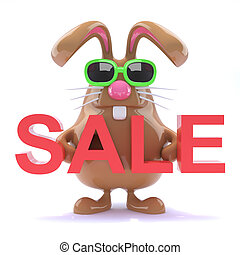3d Easter bunny sale