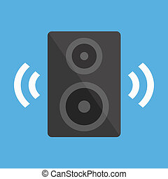 Vector Audio Speaker Icon