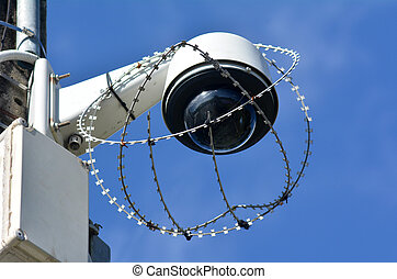 Security surveillance camera - One security surveillance...