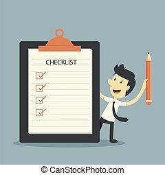 Checklist  - Businessman Checklist