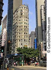Central District in HONG KONG - HONG KONG - MARCH 29:...