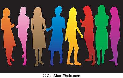 color*, mode, Femmes