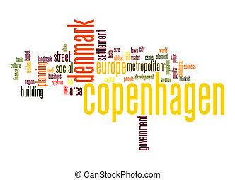 Copenhagen word cloud