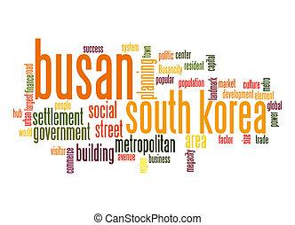 Busan word cloud