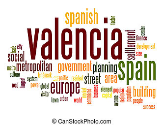 Valencia word cloud