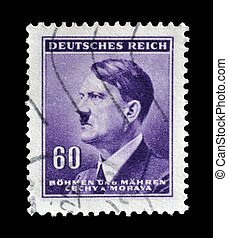 Bohmen und Mahren stamp