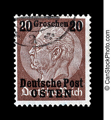 Deutsche post Osten - Postage stamp printed by Germany that...