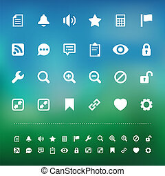 Retina interface icon set - Retina interface icon set...