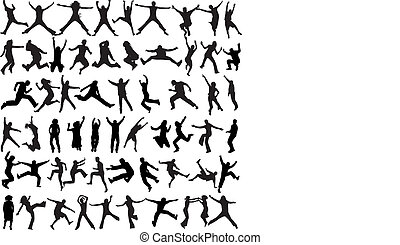 People Mix  Silhouettes