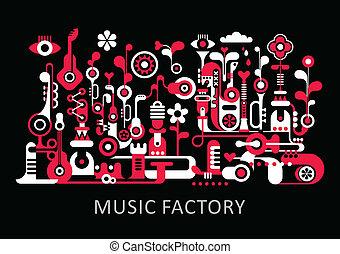 音樂, 工廠