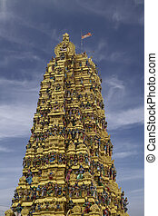 Hindu temple at Matale, Sri Lanka