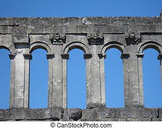Roman town-gate