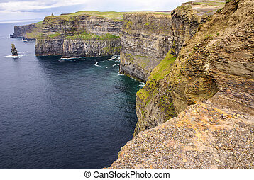 Cliffs of Moher in County Clare, Ireland