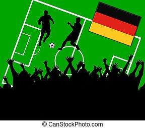soccer match germany
