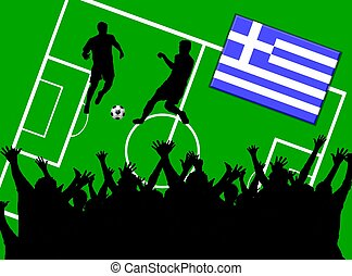 soccer match greece