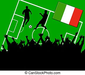 soccer match italy
