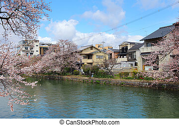 Kyoto residential district