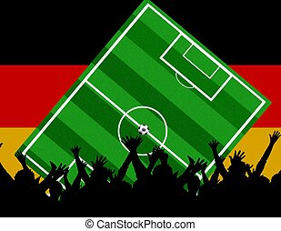 soccer fans germany