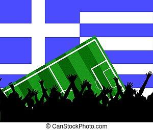 soccer fans greece