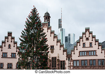 Historic Town Hall - The historic town hall of Frankfurt...