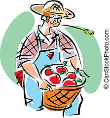 fruit art fruit cobbler