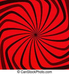 Red Spiral Grunge