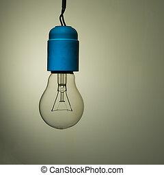 Bad wiring - old incandescent light bulb, needs upgrade -...