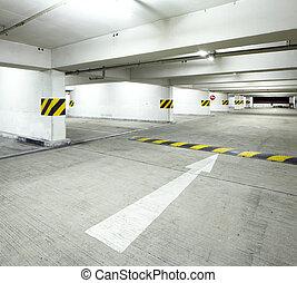 Indoor parking lot