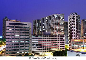 Downtown in Hong Kong