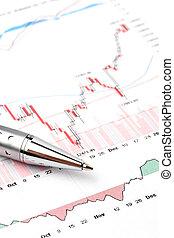 圖表, 股票, 交換