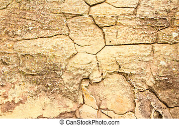 grunge texture of cracked stone surface