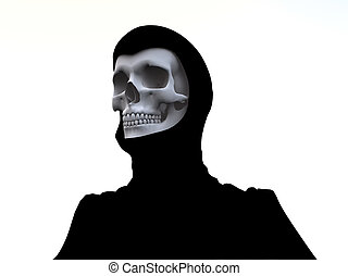 Deaths Head - The grim reaper for death, medical and...